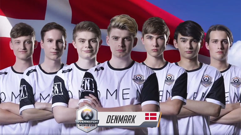 Team Danmarks Overwatch World Cup 2017 exit