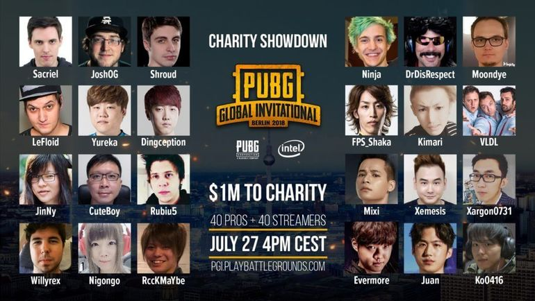 PGI Charity Showdown - Ninja og PUBG?